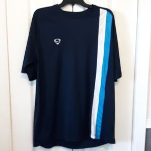 Nike navy/blue/white stripe size XXL
